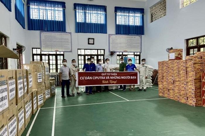 câu lạc bộ golf Ciputra Hà Nội Trao quà từ thiện, hỗ trợ Bắc Giang chống dịch