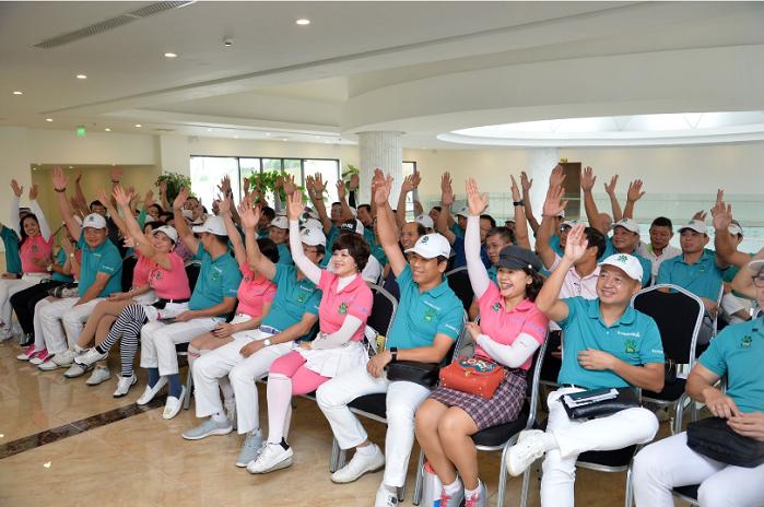 Đại hội bầu ban chấp hành nhiệm kỳ mới của câu lạc bộ golf T74