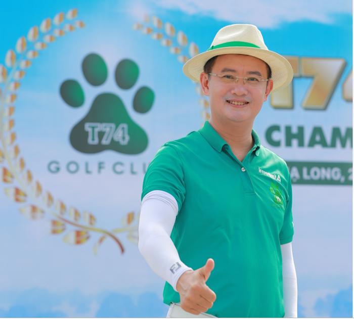 Golfer Đinh Quang Minh chủ tịch câu lạc bộ golf T74