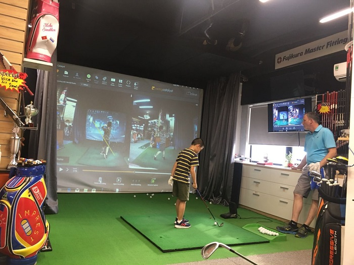 sân tập golf Phương Đông Hà Nội