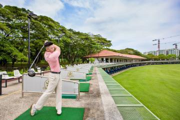 Chiêm ngưỡng khung cảnh thiên nhiên đẹp tựa tranh vẽ tại Orchid Country Golf Club Singapore