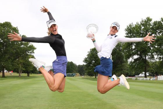 Jessica Korda và Nelly Korda: Cặp chị em xinh đẹp, tài năng làm 'khuynh đảo' làng golf thế giới