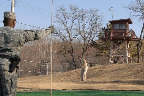 Sân golfCamp Bonifas: thử thách ở Hàn Quốc không dành cho những kẻ yếu tim