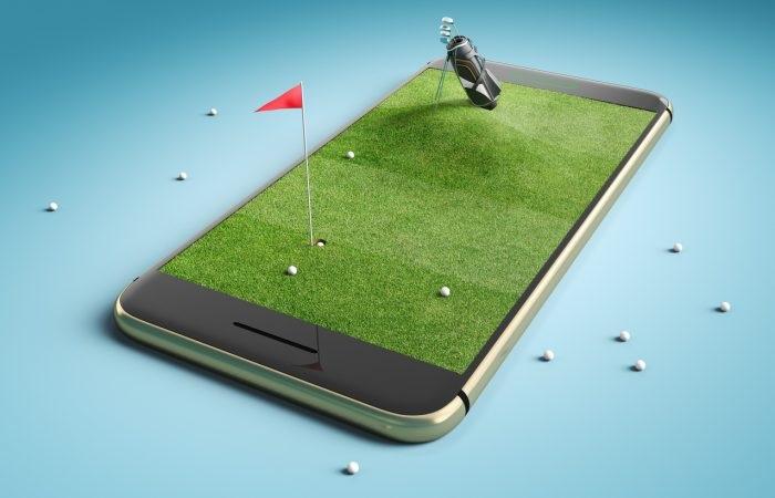 Ứng dụng đặt sân golf