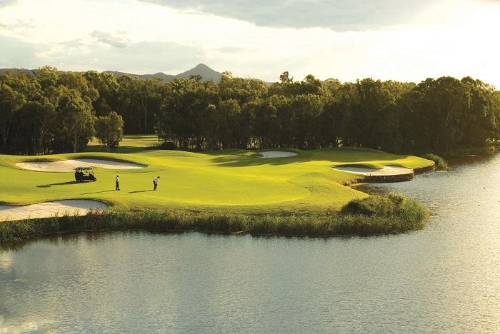 sân golf đẹp nhất Sunshine Coast