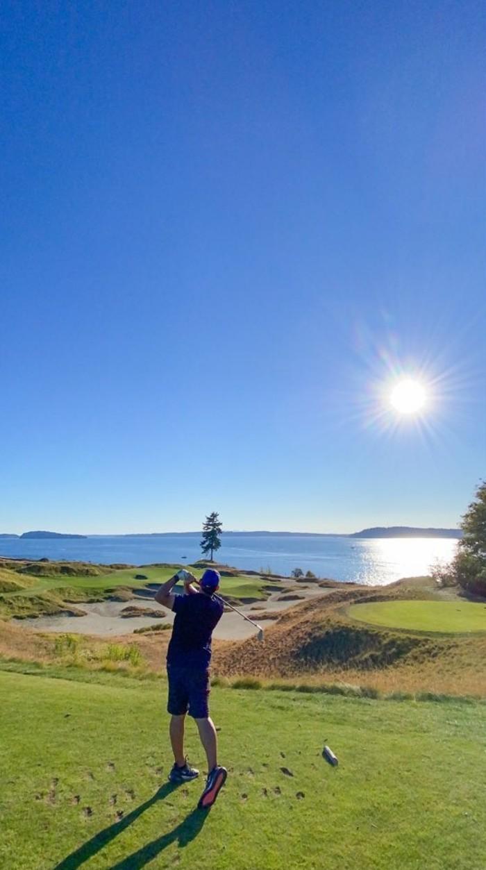 Chambers Bay Golf Course: Tự tin là 'sân links đích thực' của nước Mỹ
