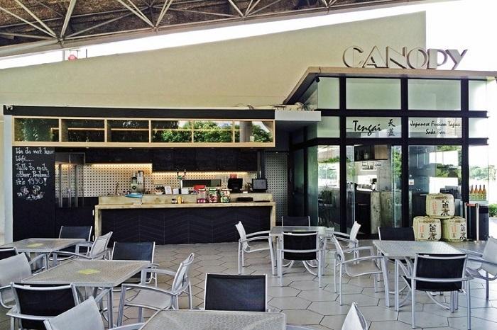 Quán cafe Canopy Marina Bay Golf Course Singapore