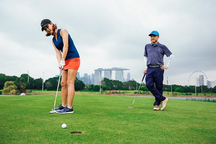 sân golf Marina Bay Golf Course Singapore