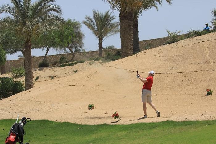 NewGiza golf club, kiệt tác giữa lòng sa mạc