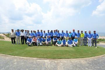 Hội golf Bà Rịa Vũng Tàu – 15 năm gắn bó và phát triển