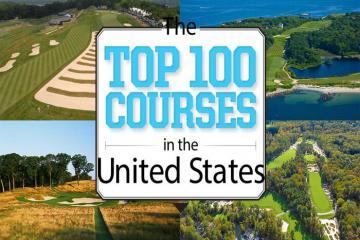 Khám phá top 100 sân golf hàng đầu tại Mỹ thông qua những con số